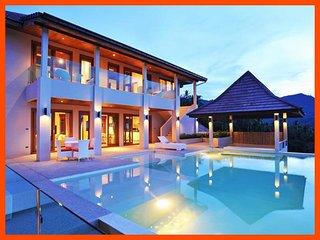 Villa 199 - Infinity edge pool and fantastic sea views - Mae Nam vacation rentals