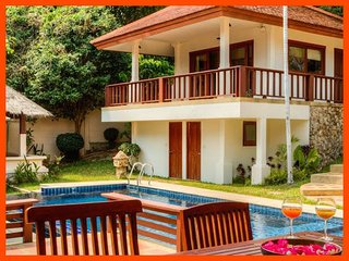 Villa 33 - Walk to beach (2 BR option) continental breakfast included - Choeng Mon vacation rentals