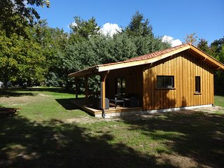 Brand New wooden lodge next to Forest & Nr.Beach - Mezos vacation rentals