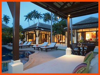 Villa 10  - Beach front (1 BR option) private pool and sunset views - Plai Laem vacation rentals