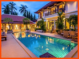 Villa 183 - Walk to beach splash drink eat sleep walk to villa jump in pool - Bophut vacation rentals