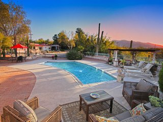 Private Classic Tucson Estate: 3 - 5 bedroom with Guest House - Casas Adobes vacation rentals