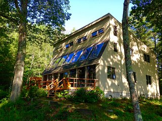 Private modern waterfront woods home in Maine - Freeport vacation rentals
