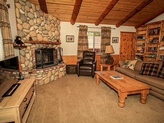 Forest Treehouse Family Cabin~Big Yard~Outdoor Spa~Central Heat/Fireplace~ - Big Bear Lake vacation rentals