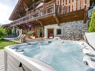 Luxury chalet opposite the slopes - Praz Sur Arly vacation rentals