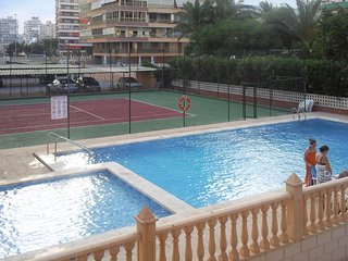 Sunny, 3-bedroom apartment in Alicante with a swimming pool– across the street from San Juan Beach! - Alicante vacation rentals