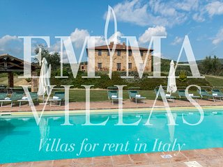 Spacious 5 bedroom Villa in Monte Vibiano Vecchio with A/C - Monte Vibiano Vecchio vacation rentals