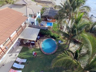 Luxury villa directly on the beach in Las Pocitas - Mancora, Peru - Mancora vacation rentals