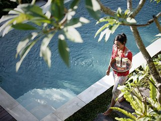 Special Rate-Luxury 3BR Villa Santana with private pool, walk to Ubud - Ubud vacation rentals
