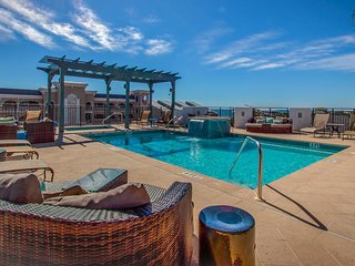 Gorgeous first floor condo at Waterhouse, community rooftop with Gulf views, pool and hot, just steps from the beach - Coastal Cabana at Waterhouse - Seacrest Beach vacation rentals