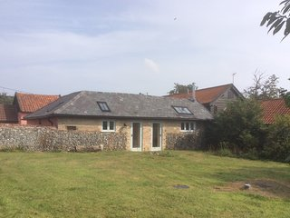 Individual barn overlooking fields with real fire - Stowmarket vacation rentals