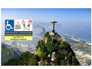 Family & Business => ready for 6 guests ! - Rio de Janeiro vacation rentals