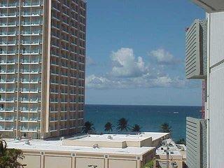 Ashford Imperial Condo Condado Jr Bedroom Ocean View Balcony Queen Bed Sleeps 2 - San Juan vacation rentals