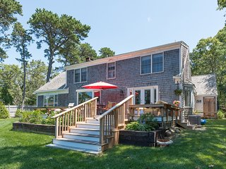 BRANP - Waterfront Home with Private Dock on Lagoon, Accessible to Vineyard Sound,  Media Room, Central AC,  Wi-Fi, Fully Renovated - Oak Bluffs vacation rentals