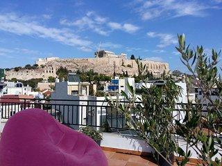 Acropolis Place, Your View, PRIVATE TERRACE, 2bd - Athens vacation rentals