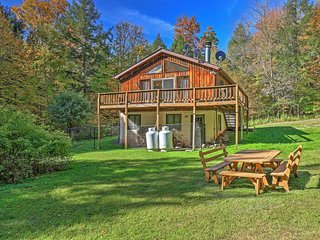 Impressive 3BR Jewett Cabin w/Fire Pit - Jewett vacation rentals