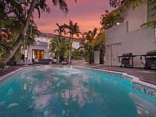 15 Room Art Deco Pool Villa Mansion Estate - Miami Beach vacation rentals