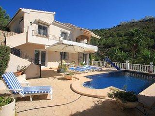 Geraldo - sea view villa with private pool in Benitachell - Benitachell vacation rentals
