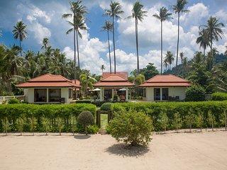 Enchanting Beachfront Holiday Retreat, Private Pool & Resident Staff - Laem Set vacation rentals