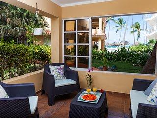 Ocean View, Los Corales Beach - Florisel E101 - Bavaro vacation rentals