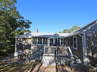 VINEYARD SUMMER COTTAGE JUST A STONES THROW FROM SENGEKONTACKET POND - Edgartown vacation rentals