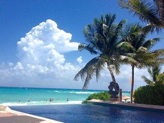 Ocean Front Condo with Pool at Luna Encantada - Playa del Carmen vacation rentals