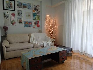Comfortable 2 bedroom Athens Apartment with Balcony - Athens vacation rentals