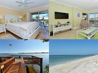 Sun Drenched One Bedroom Condo Available 1/03-1/12 Special Rate - Bradenton Beach vacation rentals