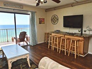 Dolphin Watching at The Summit 1124 - Beachfront! - Panama City Beach vacation rentals