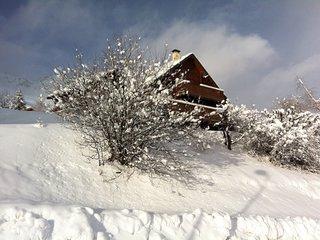 Tous les avantages d'un chalet bois en Montagne. - Saint Francois Longchamp vacation rentals
