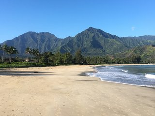 Great Hanalei Location-AC, Bikes, and Boards incl - Hanalei vacation rentals