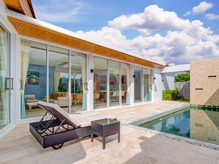 3 Bedroom Modern Pool Villa Near to Naiharn Beach - Nai Harn vacation rentals