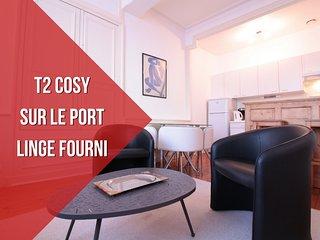 4 PERS + PORT DE VANNES + LINGE FOURNI - Vannes vacation rentals