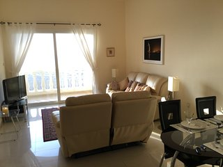 Beautiful 2 bedroom apartment with sea view. - Al Jazirat Al Hamra vacation rentals