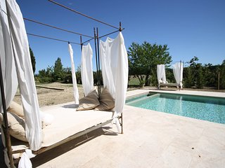 Luxury: Renovated Orangerie with Pool between vinyards in Provence - Sarrians vacation rentals