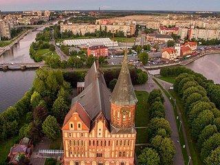 Cozy 1 bedroom Kaliningrad Apartment with Satellite Or Cable TV - Kaliningrad vacation rentals