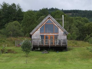 Osprey Log Cabin, with loch views and log burner - Dalavich vacation rentals