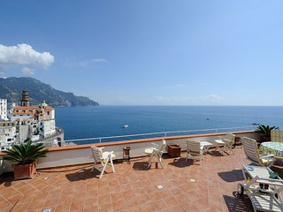 "ATRANI ""Casa Rossa"" AMALFI COAST with sea view - Atrani vacation rentals"