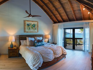 As Seen on HGTV!---Beachfront Sapphire Seclusion!! - Red Hook vacation rentals
