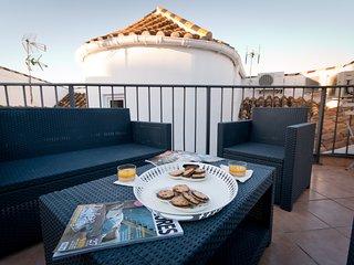 Larios Penthouse duplex with terrace solarium in Larios Street, close port and beach - Malaga vacation rentals