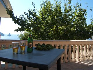 Family Seaview studio for 4p, 5 min walk to beach - Agios Gordios vacation rentals