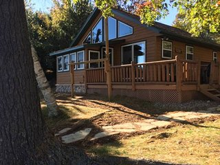 Comfortable Cabin with Deck and Satellite Or Cable TV - Saint Germain vacation rentals