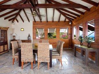 Villa Shark 5 bedrooms,  large private pool,deck and Jacuzzi +Free rent car - Saint Martin vacation rentals