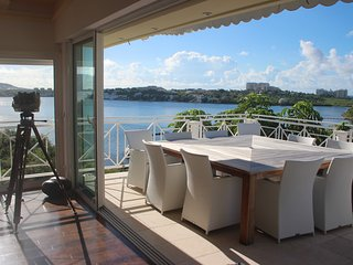 Villa 6 Bedrooms  Up to 12 guests Overlooking Lagoon, St Martin French Side - Terres Basses vacation rentals