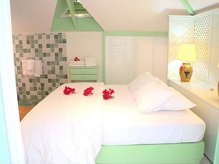 A colorful Hotel Unit on the beach - Saint Martin vacation rentals