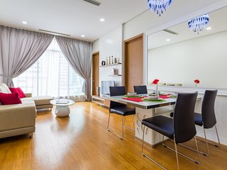 Cozy 2BR for 3 -5pax, 3 minutes to KLCC & Pavillion - Kuala Lumpur vacation rentals