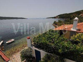 Villa in quiet area: own beach, garden & boat dock - Alonnisos vacation rentals