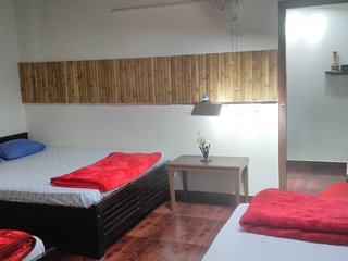 Kalyancool Homestay 2nd Bedroom-large  (upto 5 guests) attached bathroom - Chikamagalur vacation rentals