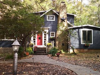 Fox Haven Mountain Cottage on McCullen Run Stream - Laughlintown vacation rentals