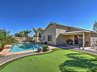Quiet 4BR Goodyear House w/Private Pool - Goodyear vacation rentals